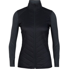 Icebreaker W's Descender Hybrid Jacket black/jet heather